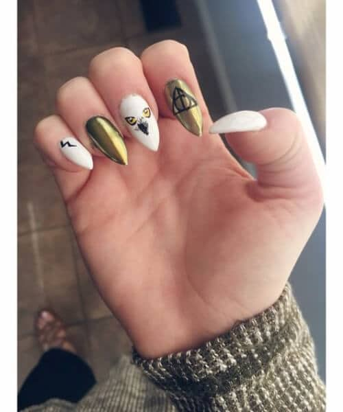 claw nail designs harry potter