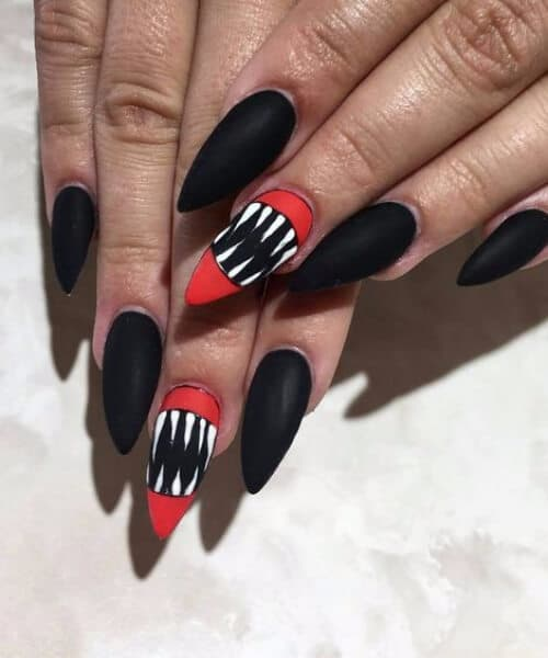 claw nail designs it