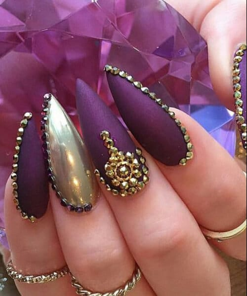 7 Claw Nail Designs That Are Hot In 2017
