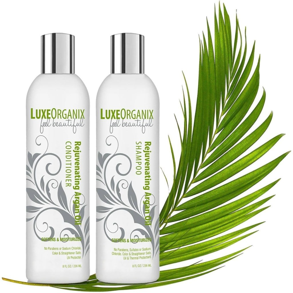 luxeorganix sulfate free shampoo and conditioner set review