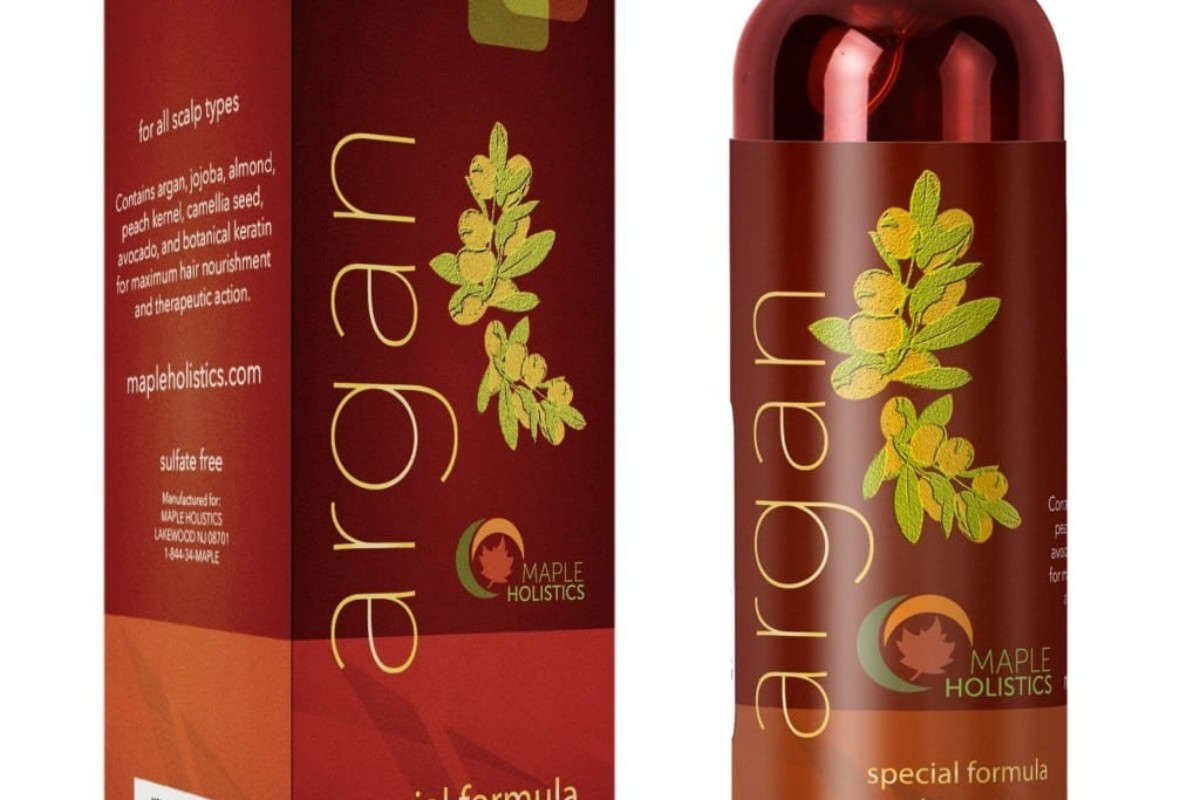 Maple Holistics Sulfate Free Argan Oil Shampoo Review