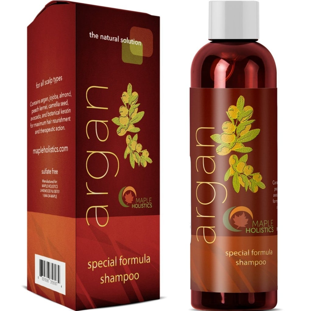 maple holistic sulfate free shampoo review