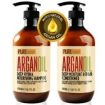 PureNature Argan Oil SLS Free Shampoo and Conditioner Set Review