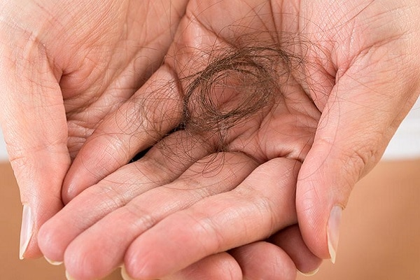 reasons for hair loss how much hair loss is normal on average