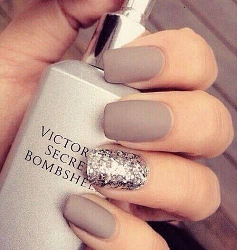 Squoval Nail Designs Neutral