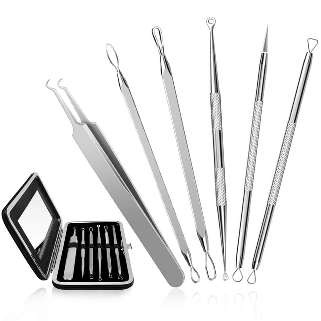 chimocee blackhead removal tools kit review
