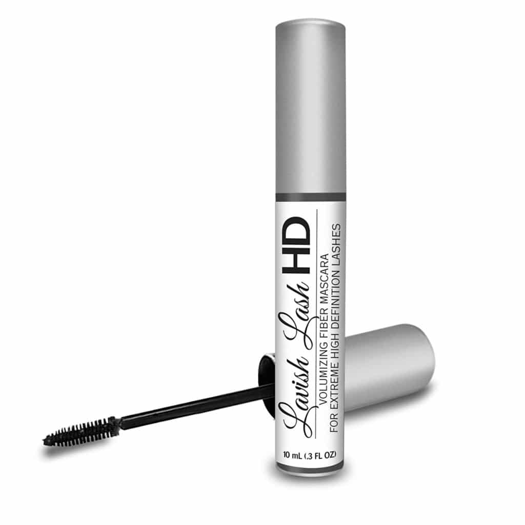 hairgenics lavish lash fiber mascara review