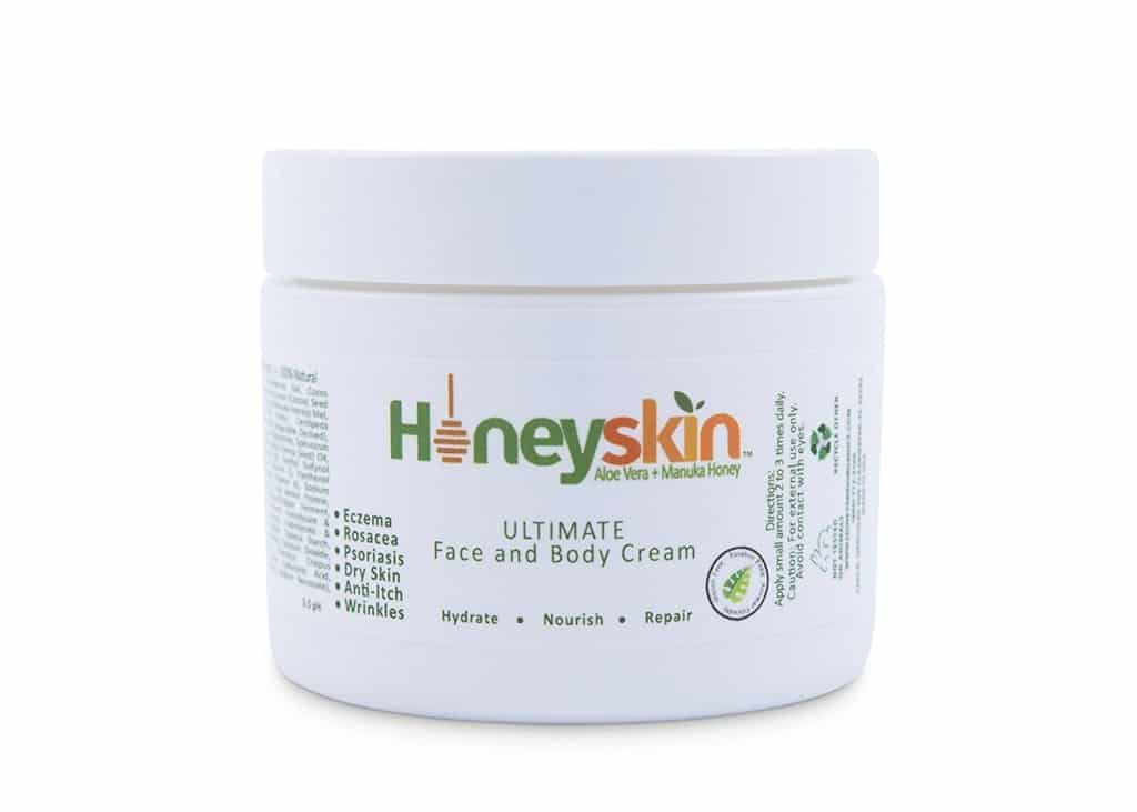honeyskin organics organic moisturizer cream review
