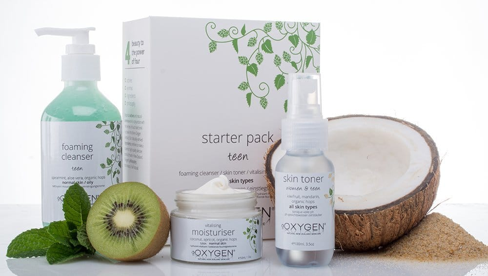 oxygen skincare young skin starter set review