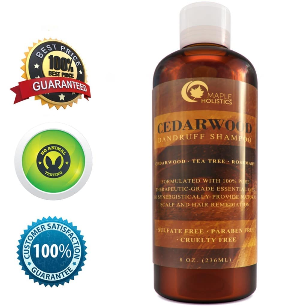 Maple Holistics Anti-Dandruff Thickening Shampoo review