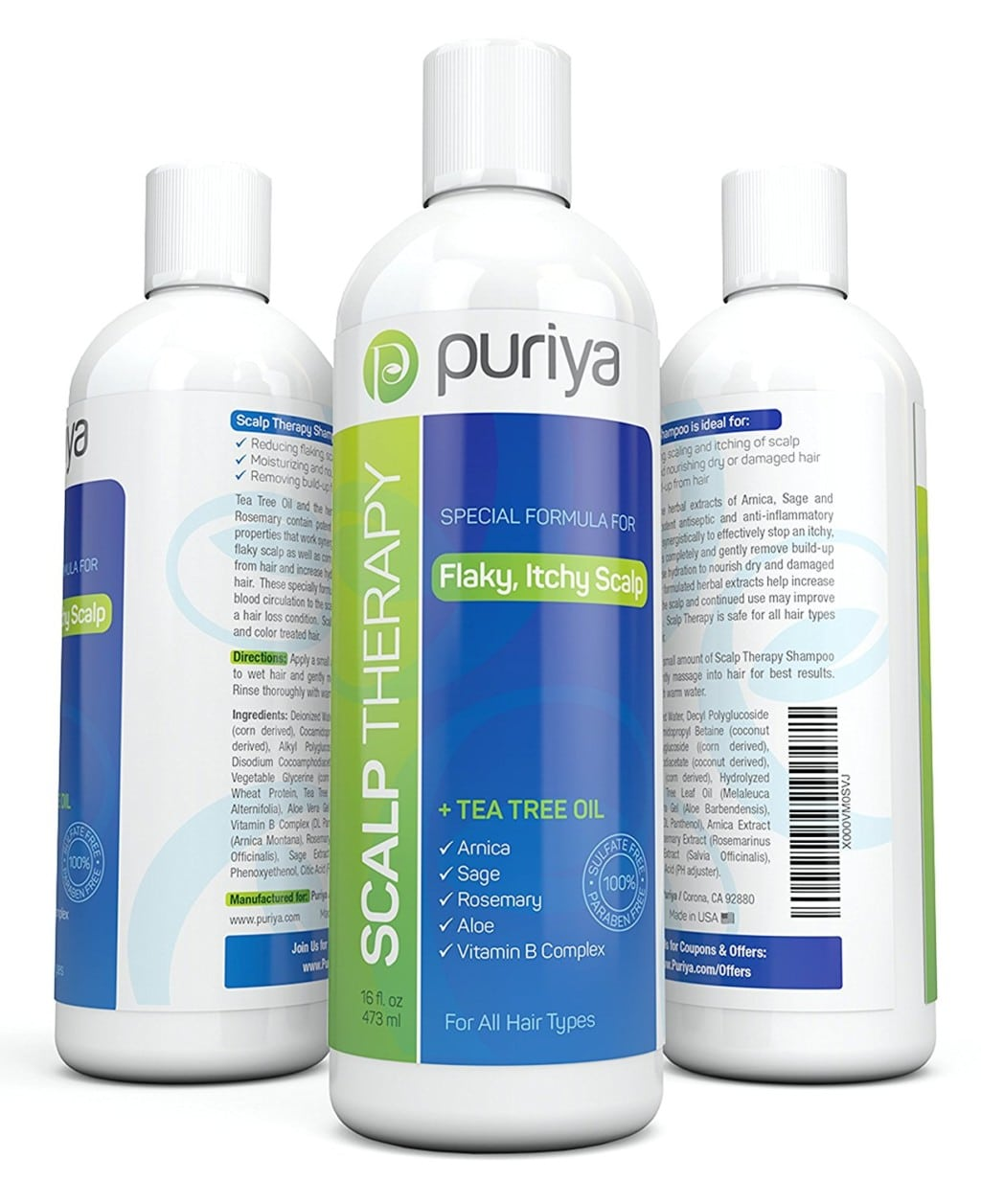 Puriya Natural Dandruff Shampoo review
