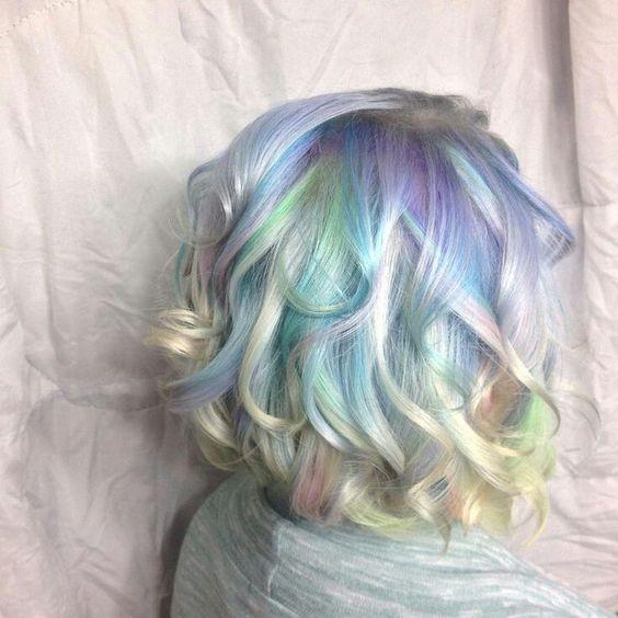 balayage hair color ideas mermaid