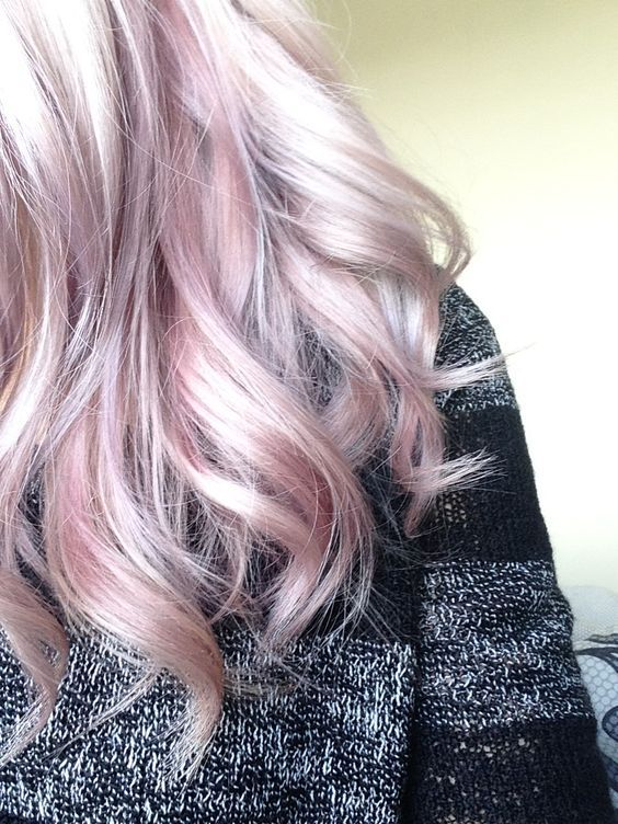 balayage hair color ideas rose quartz
