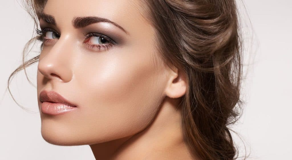 best eyebrow shape for oval face guide