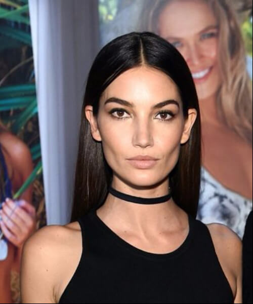 best hairstyles for square faces lily aldridge long hair