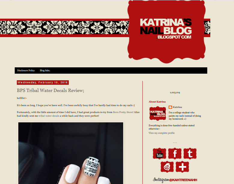 best nail art blogs katrina nail blog