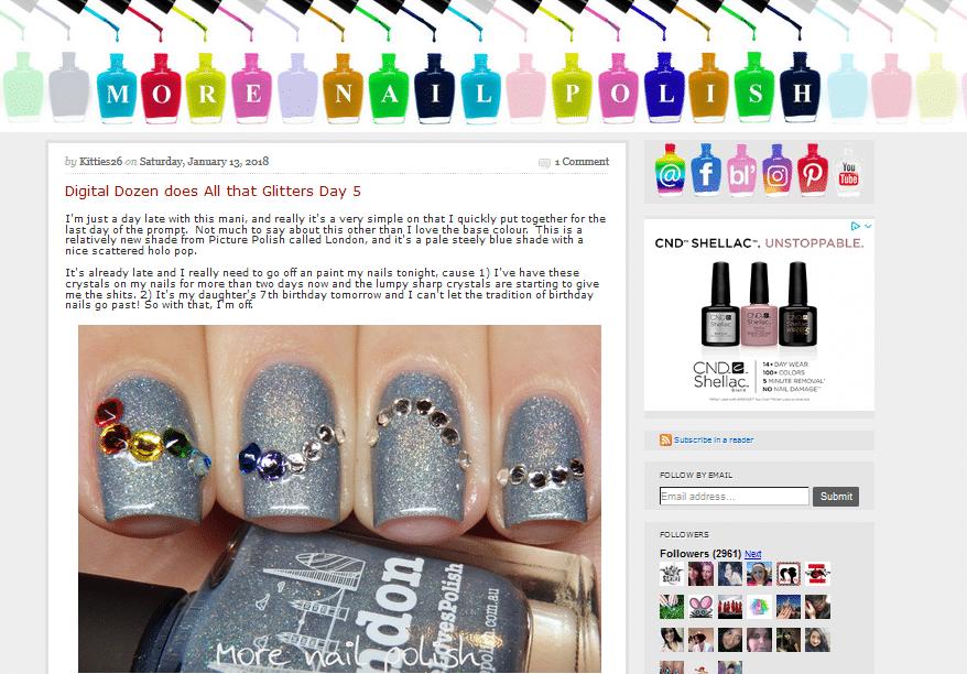 best nail art blogs more nail polish Kitties26