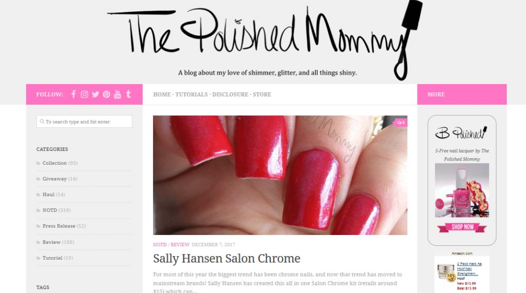 best nail art blogs polished mommy francine blog