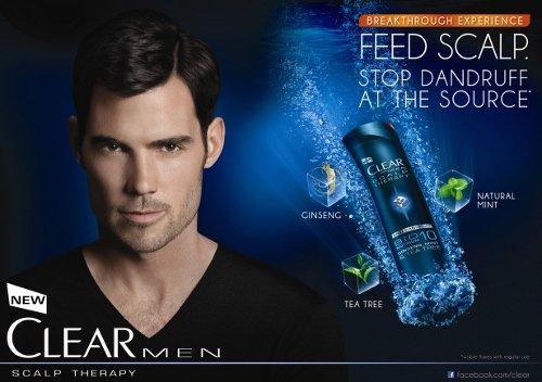 Clear Men Scalp Therapy Anti Dandruff Shampoo