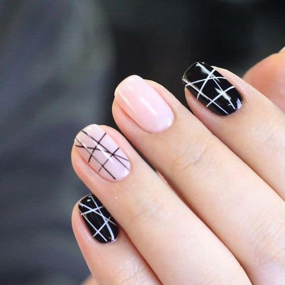 5 Stunning Geometric Nail Art to Try Out in 2018