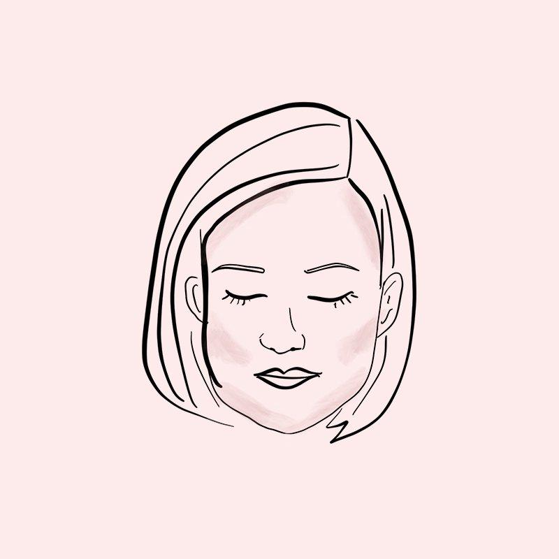 contour face chart square shaped face