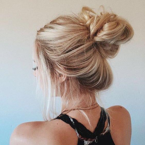 Hair top knot