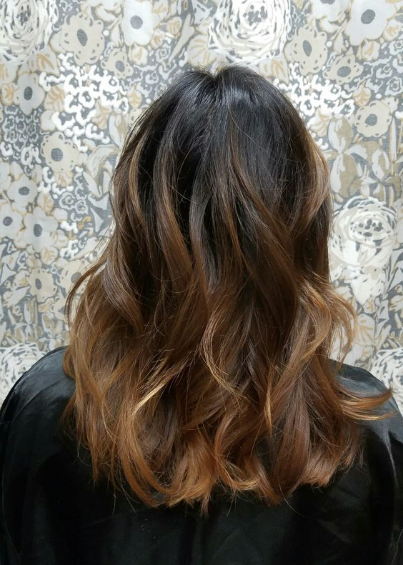 hygge hair brunette