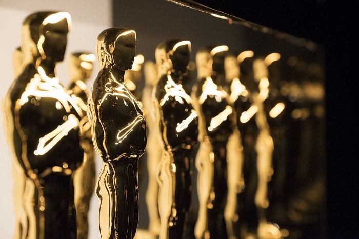 Oscars trophies