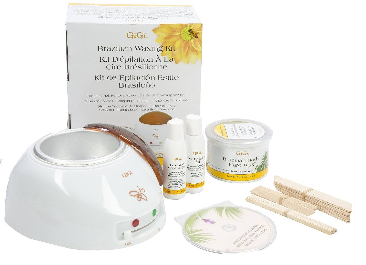 10 Best Home Waxing Kit Options for 2018 | Beautifully Alive