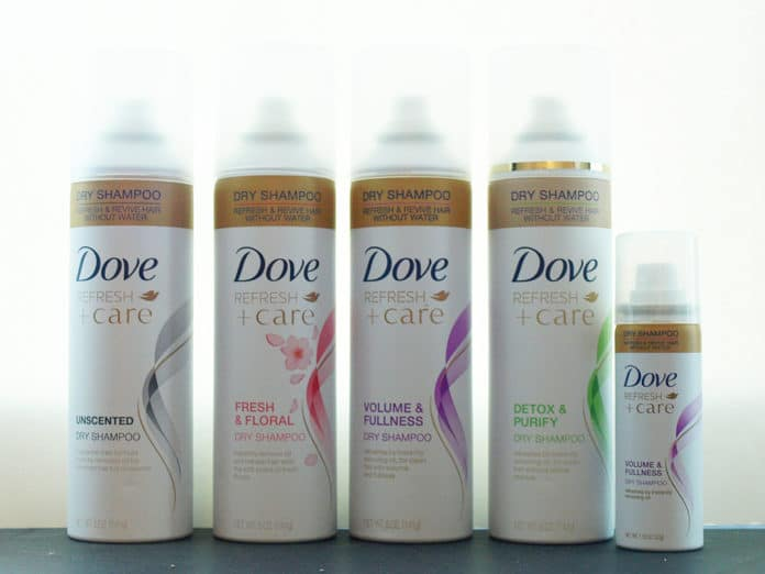 Dove Refresh + Care Dry Shampoo: Review