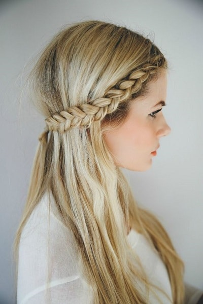 long hair headband