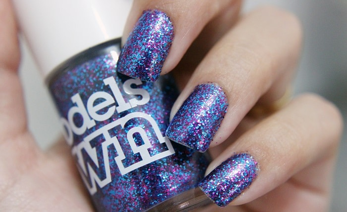 3 Nail Designs With Glitter From The Subtle To The Bold