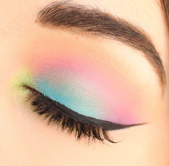 pastel cat-eye