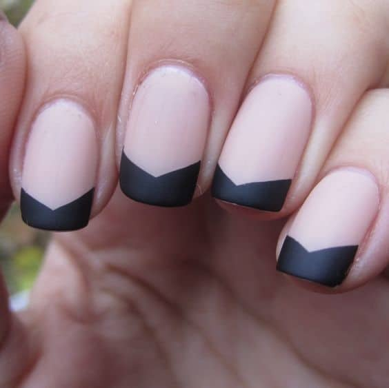 prism french manicure