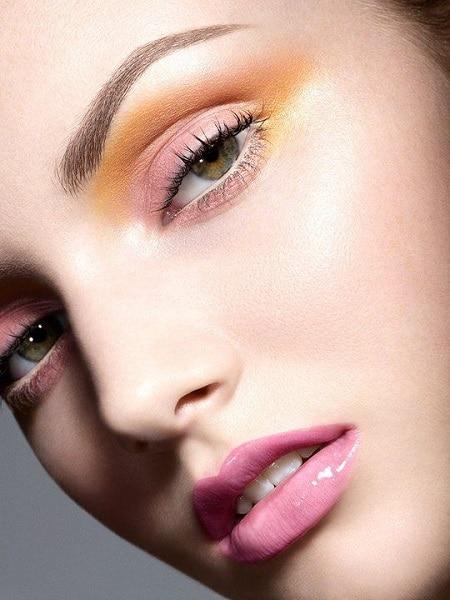 warm tones pastel look