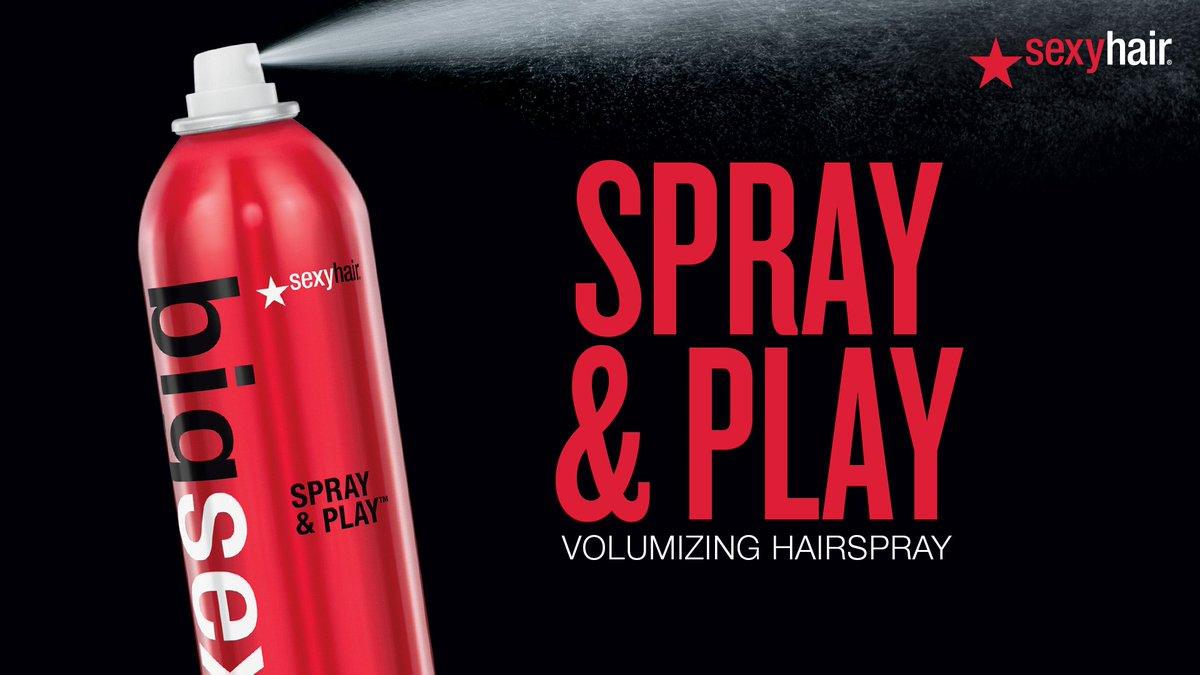 With you Big sexy hair volumizing hairspray