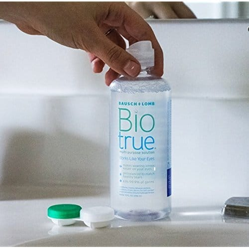 Biotrue Contact Lens Solution For Soft Contact Lenses Review