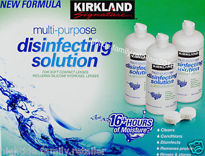 Kirkland Signature Multi-Purpose Sterile Solution: Review