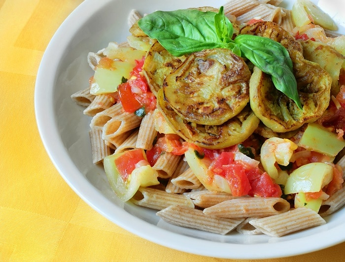 healthy dish with vegetables