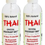 Thai Deodorant Stone Crystal Mist Natural