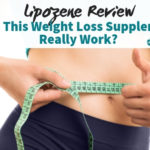 lady flaunting toned waist as proof of the effectiveness of lipozene review