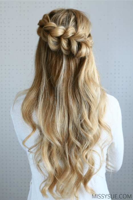 The ultimate guide to creating the perfect waterfall braid how to waterfall braid how to do a waterfall braid waterfall braid steps ccuart Image collections