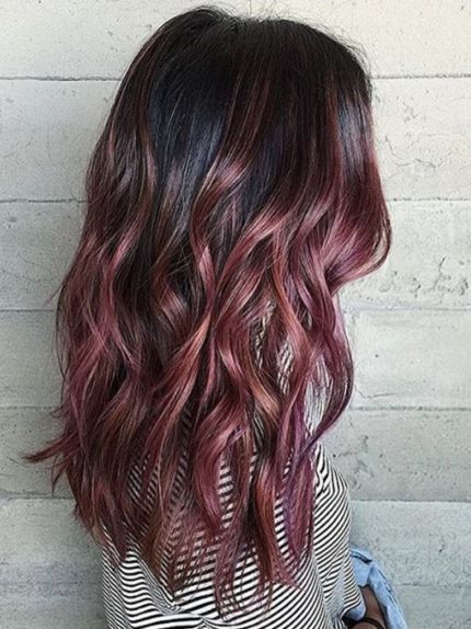 Dark Rose Gold Hair Your Complete Guide To The Trendiest