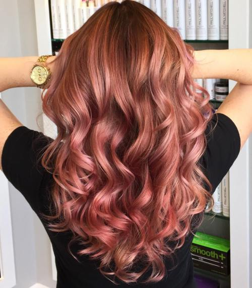 Dark Rose Gold Hair Your Complete Guide To The Trendiest New Hair Color