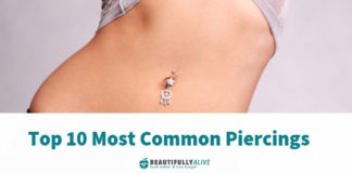 Top 10 Most Common Piercings