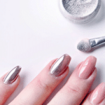 brush on chrome, gold chrome, chrome powder nails, nail ideas, nail polish trends, best chrome polish, gel nail ideas, rose gold chrome nails, nail designs pinterest, chrome nail polish, chrome nail designs, white chrome nails, silver chrome nails. chrome acrylic nails, pink chrome nails, chrome coffin nails, how to do chrome nails, chrome mirror, chrome mirror nail polish
