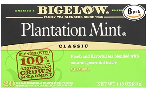 Bigelow Tea upset stomach