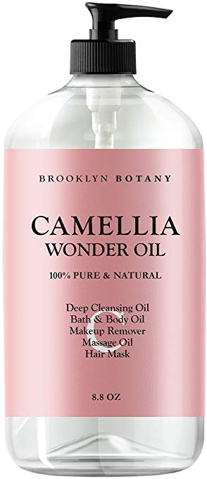 Camellia Wonder Oil – 100% Pure & Natural- Face & Eye Makeup Remover