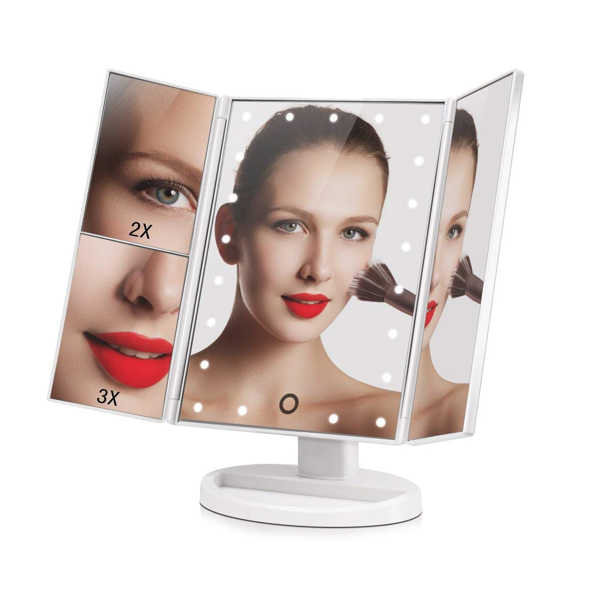 Big House Led Lighted Makeup Mirror