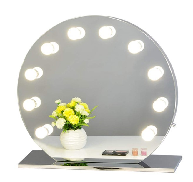 Chende lighted makeup mirror